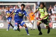 Cristian Ianu steht mit 20 Treffern auf Platz drei der Torschützenliste. (Archivbild Philipp Schmidli/Neue LZ)