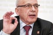 Finanzminister Ueli Maurer. (Bild: Keystone (Bern, 14. Februar 2018))
