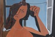 Inspiriert von Picasso: Hans Erni alias François Grèques malt 1932 das «Mädchen am Fenster». (Bild Auktionskatalog)