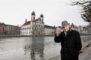 Ist noch voller Tatendrang: der Luzerner PR-Berater und Unternehmer Anton «Toni» Glanzmann. (Bild: Corinne Glanzmann / Neue LZ)