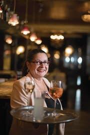 Dolores Carcano im Restaurant Bistro du Théatre. (Bild: Corinne Glanzmann (Luzern, 22. Januar 2018))