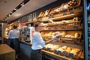 Die Bäckereien mit ihren Spezialitäten. (Bilder Roger Grütter und Pius Amrein)