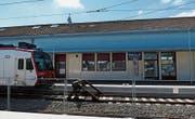 Die Bahnstrecke von Biel und Delsberg soll nicht mehr an der schweizerisch-französischen Grenze enden. (Bild: Tobias Gafafer)