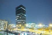 Der Parktower in der Stadt Zug. (Archivbild Stefan Kaiser)
