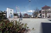 Das Areal südlich des Bahnhofs Rotkreuz wäre vom Vorstoss betroffen gewesen. (Bild: Werner Schelbert (Rotkreuz, 29. März 2017))