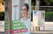 Grünen-Plakat im österreichischen Wahlkampf 2017. (Bild: Roland Schlager/APA)