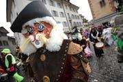 Miau! Auch der gestiefelte Kater schreitet in Altdorf durch die Gassen. (Bild: Urs Hanhart / Neue UZ)