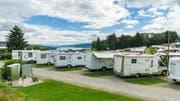 Ein Blick auf Camping Hüttenberg in Eschenz (TG). (Bild: PD/Camping.info)