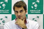 Roger Federer nach einer Niederlage: «Ich habe zwar verloren, aber jetzt weiss ich, was ich wissen wollte.»