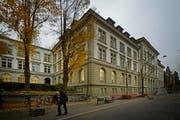 Ein Ubertritt ans Kurzzeitgymnasium - hier das Schulhaus Musegg - wird auch künftig ab der 3. Sek möglich sein. (Bild: Pius Amrein/Neue LZ)