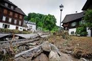 Das Unwetter vom 7. Juni 2015 forderte in Dierikon zwei Todesopfer. (Bild Corinne Glanzmann)