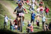 Alessandra Keller (Mountainbike, 20, Stans) (Bild: Gian Ehrenzeller / Keystone)