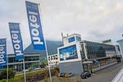 Mit dem Kauf der Thepra AG kamen die VBL auch in den Besitz des Hotels Stans-Süd. Bild: Roger Grütter (Stans, 7. Oktober 2016)