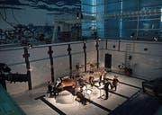 Ungewohnte Umgebung: das Ensemble Montaigne im Luzerner Neubad. Bild: Corinne Glanzmann (17. Juni 2017)