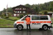 Die Polizei suchte während Tagen nach dem verschwundenen Moldawier. (Bild: Keystone)