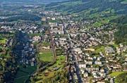 Eine Luftaufnahme von Ebikon. (Bild: Niklaus Wächter)