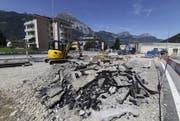 Die Bauwirtschaft im Kanton Uri entwickelte sich positiv. (Bild Florian Arnold)