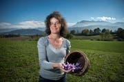 SVP-Kantonsrätin Barbara Lang muss um ihren Bauernhof fürchten. (Bild: Dominik Wunderli (Hellbühl, 24. Oktober 2013))
