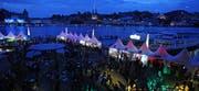 Das Blue Balls rund ums Luzerner Seebecken feiert 20. Jubiläum. (Bild: Philipp Schmidli/Neue LZ)