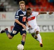 Am Sonntag trifft der FCL auf den FC Sion. (Bild: Keystone)