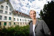 Magdalena Berkhoff, Chefärztin der Psychiatrischen Klinik Zugersee in Oberwil: «Der Wechsel zwischen Beanspruchung und ruhigen Momenten ist mir wichtig.» (Bild Stefan Kaiser)