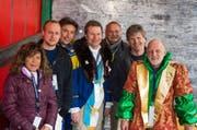 Sie haben entschieden: Die Chatzestrecker-Jury mit Margrit Windlin, Dominic Schürmann, Raphael Bachmann, Marcel Schwerzmann, Erwin Bachmann, Stefan Ragaz und Hugo Stadelmann (v.l.n.r.). (Bild: pd)