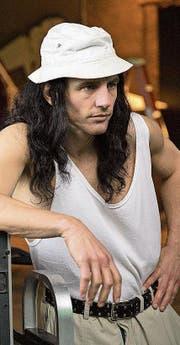 James Franco (39) in der Rolle des chaotischen und total unfähigen Regisseurs Wiseau. (Bild: PD)