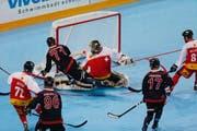 Impressionen des Streethockey-Turniers vom Sonntag. (Bild: Stefan Kaiser / Neue ZZ)