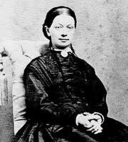 Ihr gehört die Hälfte seiner Poesie: Dorothea Jensen (1828-1903). (Bild: PD)