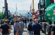 An der Forstmesse in Luzern werden 26'000 Besucher erwartet. (Archivbild: PD)