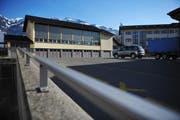 Schulhausareal und Feuerwehrdepot in Kerns. (Bild: Corinne Glanzmann / Neue NZ)