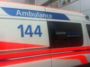 Rettungsdienst 144. (Bild: Ernst Zimmerli)