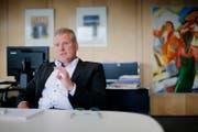 Landammann Heinz Tännler: «Wir waren uns bewusst, dass die Meinungen der Parteien bei dieser Fragestellung auseinandergehen.» (Bild: Stefan Kaiser/Neue LZ)