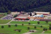 Die «Aviatik» ist in der Zentralschweiz mit zahlreichen Firmen, wie auch den Pilatus Flugzeugwerken in Stans, entlang der Wertschöpfungskette eine Nische. (Bild: Archiv Neue NZ)