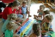 Kinderbetreuung im Chinderhuis Nidwalden in Stans. (Bild pd)