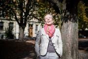 Karin Jann (50) gibt ab Mittwoch Lachyoga-Kurse in Luzern. (Bild: Manuela Jans- Koch)