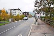 Die Rümligbrücke in Schachen soll doppelt so breit und um einen Meter erhöht werden. (Bild Manuela Jans)