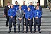 Die neuen Polizisten des Zuger Korps. (Bild: pd)