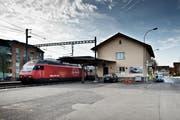 Der Bahnhof Sempach-Neuenkirch ist für den Bahnverkehr geschlossen. (Bild Pius Amrein)