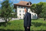 Der Roggliswiler Gemeindepräsident Josef Steinmann zeigt sich enttäuscht, dass die Stimmbürger den Verkauf des Schulhauses Winkel abgelehnt haben. (Bild Nadia Schärli)