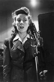 Vera Lynn als gefeiertes Sweetheart der britischen Truppen im Zweiten Weltkrieg. (Bild: Keystone)