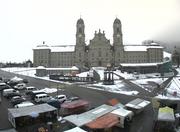 Screenshot Webcam Einsiedeln, 6. November 2017, 13.20 Uhr (Bild: Screenshot Webcam / Bezirk Einsiedeln (Einsiedeln, 6. November 2017))
