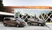 Der neue Toyota Proace Verso ist als Nutz- und Personenfahrzeug erhältlich. Als Van bietet er Platz für bis zu acht Passagiere.PD