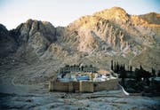 Aussensicht des Katharinen-Klosters auf der ägyptischen Halbinsel Sinai. (Bild: Getty)
