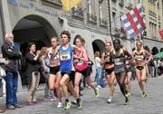 Freut sich auf den Luzerner Stadtlauf: Maja Neuenschwander (vorne). (Bild: Michael Buholzer / swiss-image.ch)