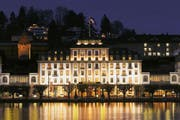 Mitmachen lohnt sich: Es winkt eine Nacht für Zwei im Hotel Schweizerhof in Luzern. (Bild: Keystone)