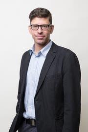 Jérôme Martinu, Chefredaktor «Neue Luzerner Zeitung» und Regionalausgaben. (Bild Manuela Jans-Koch)