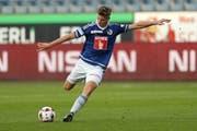 Der Offensivspieler Cedric Itten bleibt dem FC Luzern treu. (Bild: Philipp Schmidli, Luzernerzeitung / Luzern, 24.09.2016)