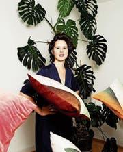 Claudia Caviezel lässt sich für ihr Textildesign auch vom Alltag inspirieren. (Bild: Basil Stücheli/PD)