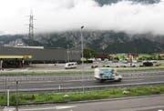 Die Gotthardraststätte in Erstfeld. (Bild: Manuela Jans)